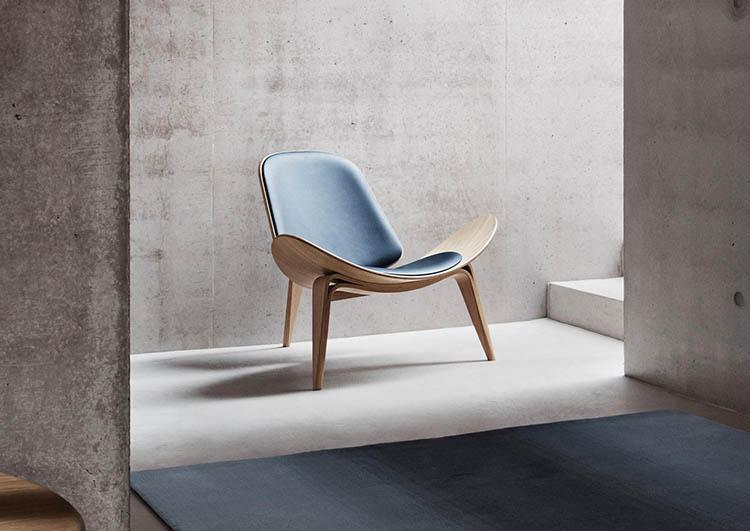 Poltrona Del Piacere.Homestic Lounge Chair Ch07 Di Hans Wegner La Poltrona Del