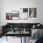 Historiska Hem - appartamento a Stoccolma - divano e zona living