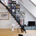 scala in ferro dell'attico a Parigi