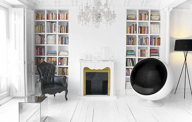 Comodissima Ball Chair, icona vintage prepotentemente tornata in auge
