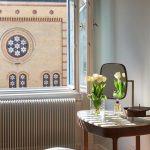 Vista della casa a Budapest, ristrutturazione dello studio ungherese Spirit Home