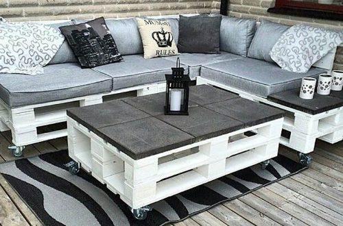 come fare tavolini, poltrone e divani in pallet recuperando vecchi bancali
