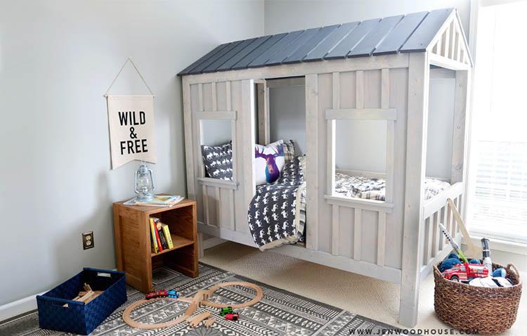 DIY, come trasformare una cameretta in un vero rifugio per il bambino