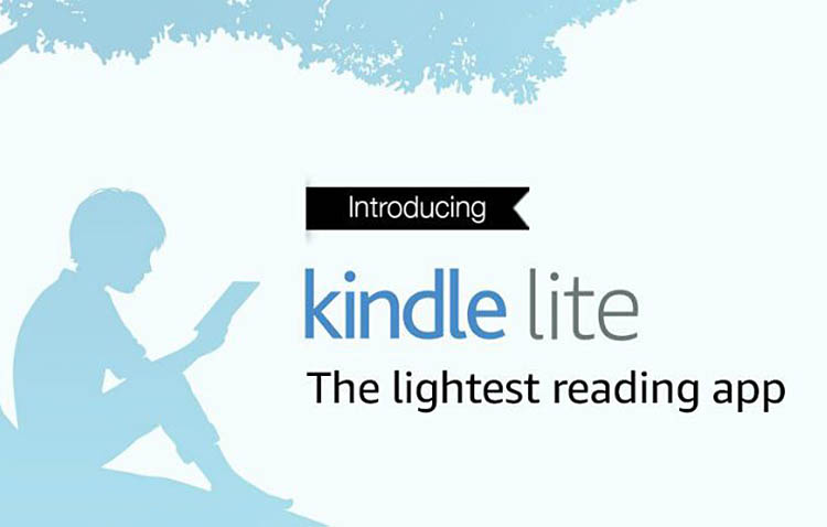 Kindle lite app di lettura veloce per dispositivi datati