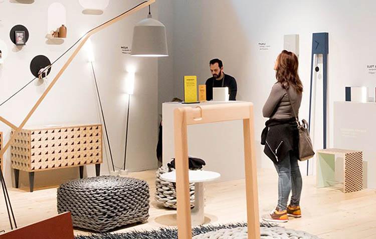 Salone del Mobile 2018, legno e illuminazione