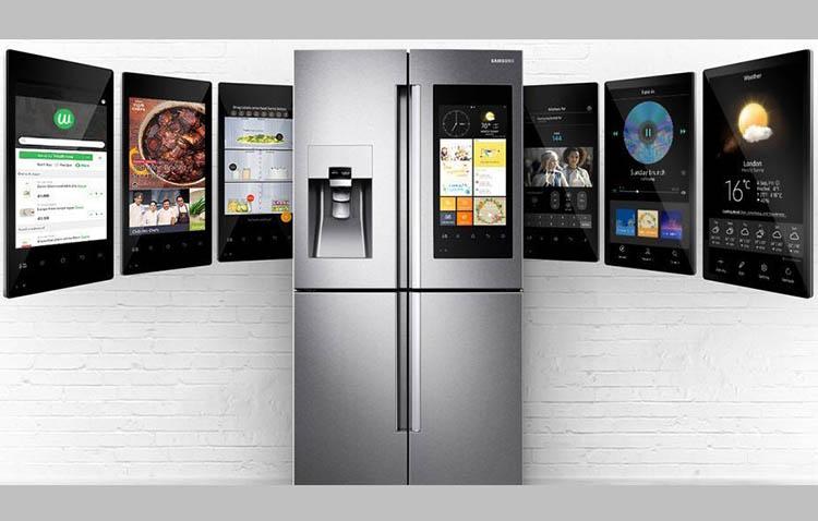 Frigorifero Family Hub di Samsung, per inserire la domotica a casa tua