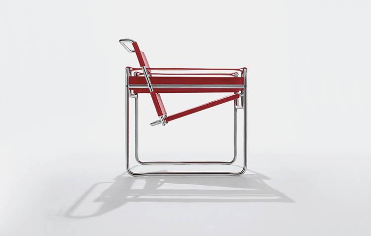 Wassily Chair, un progetto ormai datato ma una sedia sempre apprezzata
