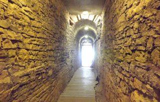 Cunicoli nei sotterranei dell'Arena di Pola