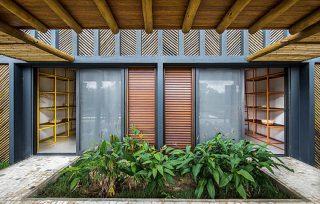 casa in bambù - 04