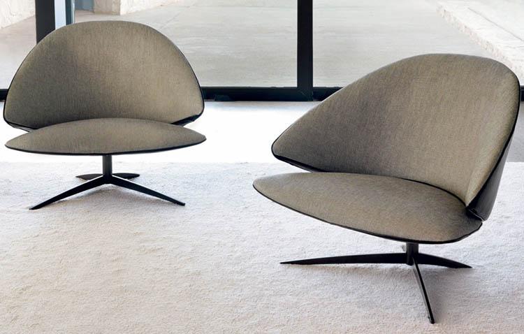 Poltrona Koster, progettata di Marc Sadler per Désirée divani
