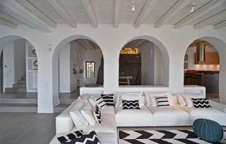 Villa Aela, zona living della casa