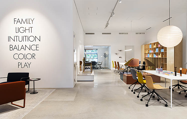 arper a los angeles, apre il nuovo showroom
