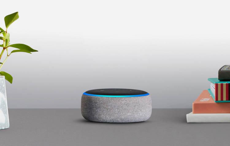 Amazon Echo con Alexa, Echo dot, Echo, Echo spot e Echo plus