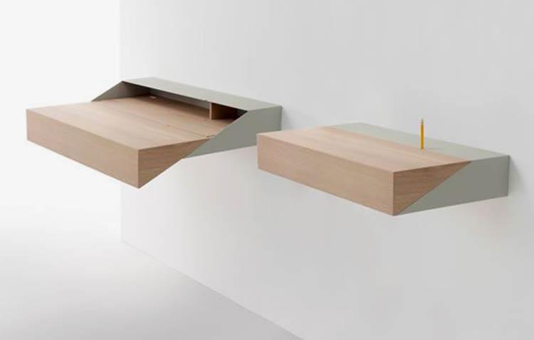 scrivania salvaspazio - scrittoio by molteni