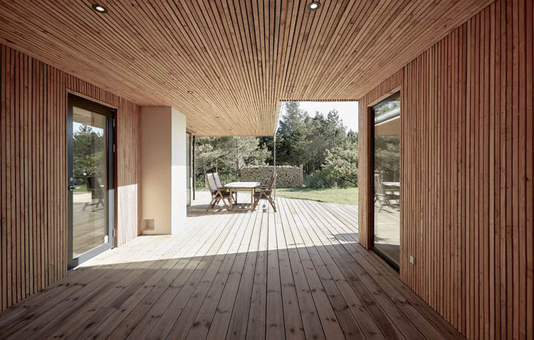 woodenhouse by Søren Sarup, scorcio dell'ingresso