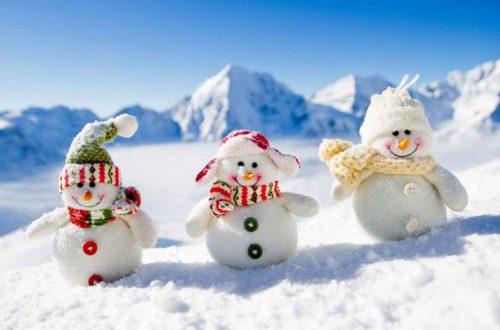 inverno 2018 - pupazzi neve