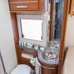 vacanze in camper - ecco come si presenta il bagno in un camper