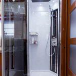 vacanze in camper - doccia