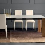 boulevard by calligaris - piano in vetro e ceramica