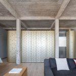 loft voltaire - illuminazione naturale dal soggiorno
