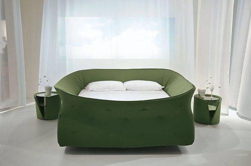 Letto Colletto di Lago - ecco il letto che ci ripara dal mondo esterno
