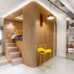 10° House-zona-notte-rialzata-specchiera