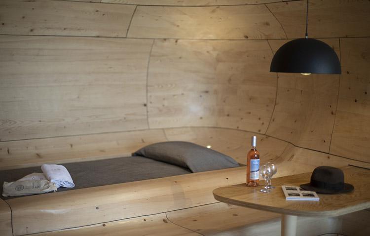 wooden cave - suite in legno per una vacanza alternativa