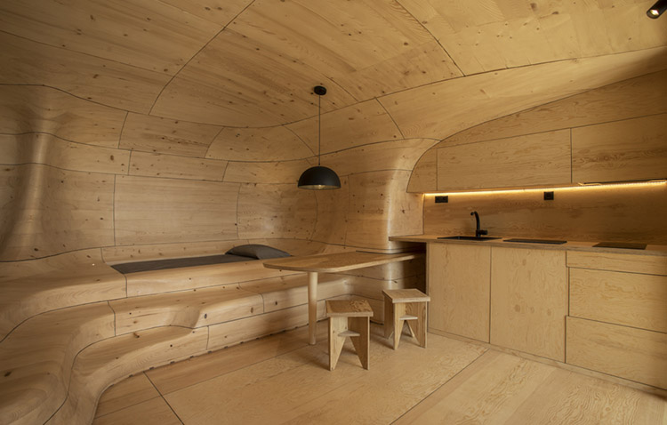 wooden cave - zona relax in grecia