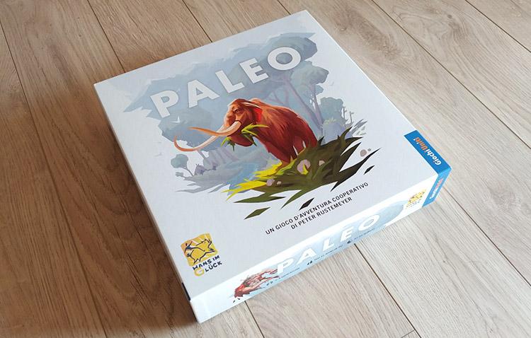 gioco da tavolo paleo - scatola base del gioco