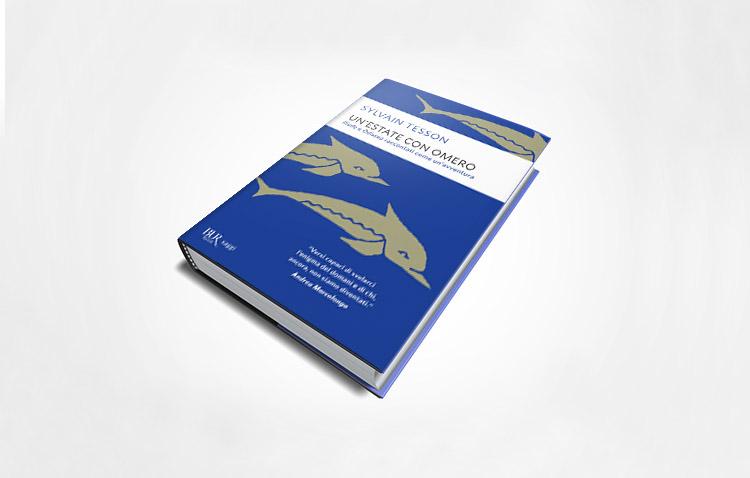 un'estate con omero di Sylvain Tesson - copertina libro