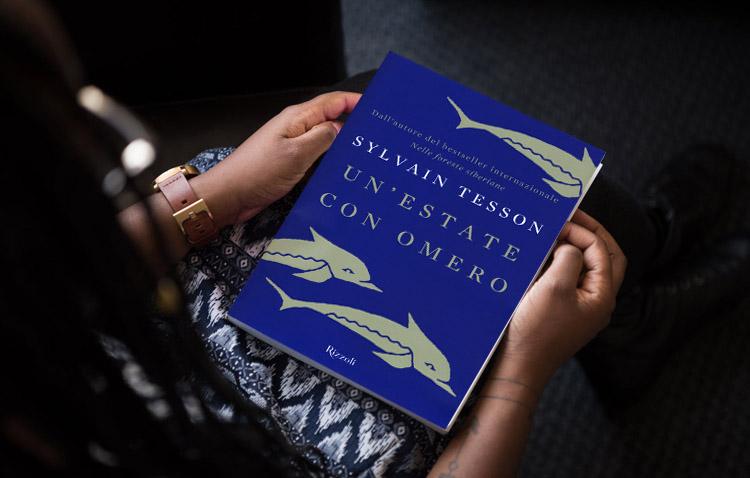 un'estate con omero di Sylvain Tesson - immagine di copertina